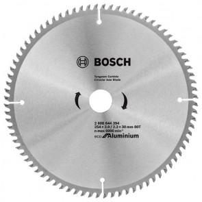 Циркулярен диск Bosch за алуминий HM ф254х30х3мм, z80