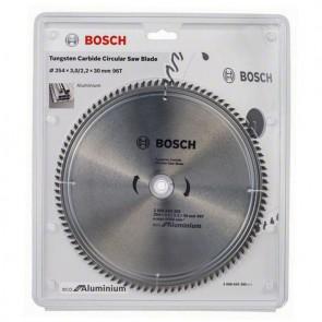 Циркулярен диск Bosch за алуминий HM ф254х30х3мм, z96