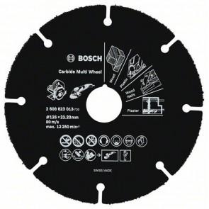 Универсален карбиден диск за рязане Bosch Multi Wheel / ф125х22.23мм