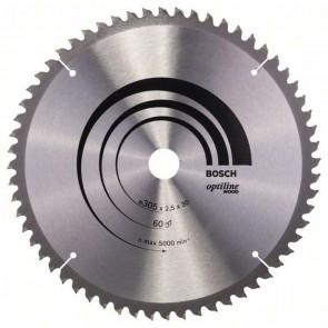 Циркулярен диск Bosch за дърво HM ф305х30х2.5мм, z60