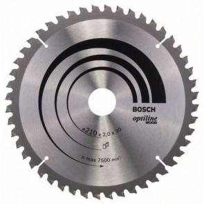 Циркулярен диск Bosch за дърво HM ф254х30х2.8мм, z40