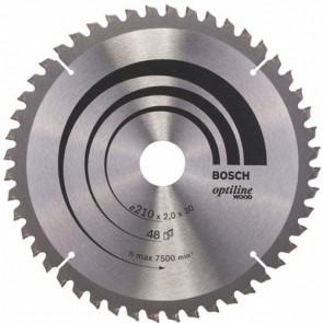 Циркулярен диск Bosch за дърво HM ф210х30х2.8мм, z24