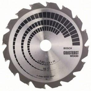 Циркулярен диск Bosch за дърво HM ф230х30х2.8мм, z16