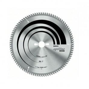 Циркулярен диск Bosch за дърво HM ф250х30х3.2мм, z80