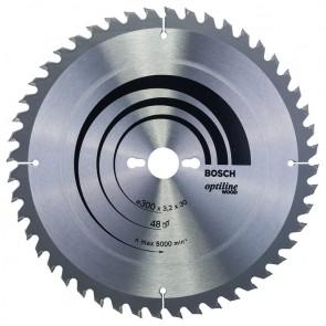 Циркулярен диск Bosch за дърво HM ф300х30х3.2мм, z48