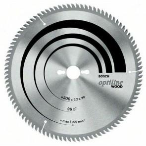 Циркулярен диск Bosch за дърво HM ф315х30х3.2мм, z48