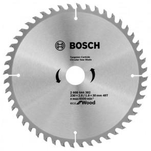 Циркулярен диск Bosch за дърво HM ф230х30х2.8мм, z48