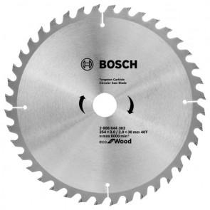 Циркулярен диск Bosch за дърво HM ф254х30х3мм, z40