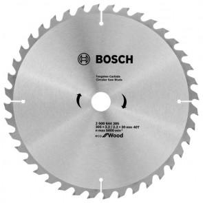 Циркулярен диск Bosch за дърво HM ф305х30х3.2мм, z40
