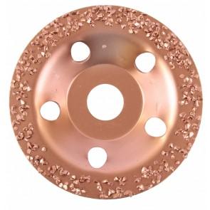 Карбиден диск за шлайфане на стъклопласти, газобетон, дърво и др. Bosch / ф115х22.23 мм