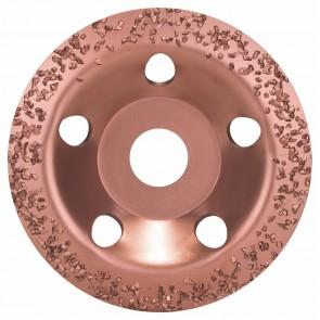 Карбиден диск за шлайфане на стъклопласти, газобетон, дърво и др. Bosch / ф115х22.23мм