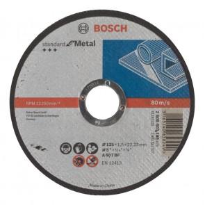 Карбофлексов диск за рязане на метал Bosch A60TBF / ф125х1.6х22.23мм