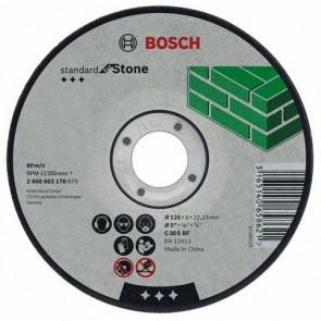 Карбофлексов диск за рязане на камък Bosch C30SBF / ф180х3х22.23мм