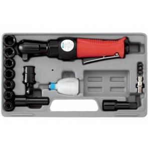 Комплект пневматична тресчотка с накрайници Fervi 0046 - 65 Nm