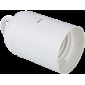Фасунга E27 4A бяла SOLERA Termoplastic