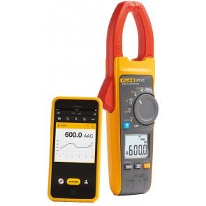 True RMS амперклещи с безжична връзка със смартфон или таблет Fluke 375 FC