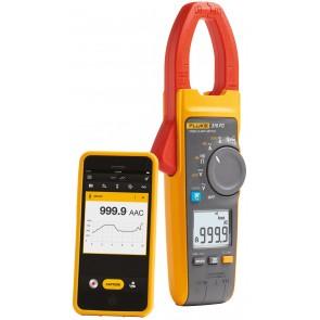 True RMS амперклещи с безжична връзка със смартфон или таблет Fluke 376 FC