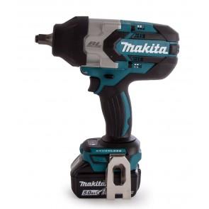 "Акумулаторен ударен гайковерт Makita DTW1002RTJ - 18.0 V, 5.0 Ah, 1/2"", 1000 Nm"
