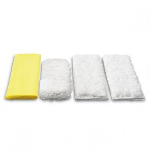 Комплект микрофибърни кърпи за кухня Karcher DE, SC и SI
