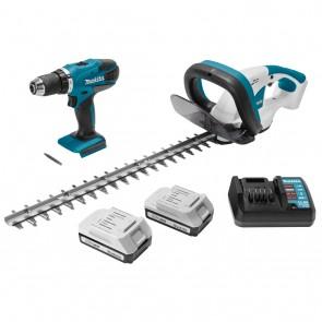 Комплект акумулаторни инструменти Makita DK18171 / 18V, 1.3Ah