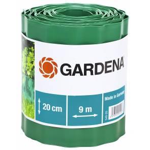 Разделителна лента за трева Gardena / 9м, 15см, зелена