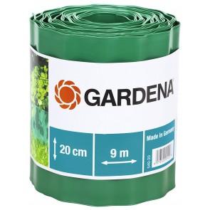 Разделителна лента за трева Gardena / 9м, 20см, зелена