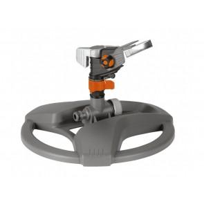 Секторен и кръгов импулсен разпръсквач с поставка Gardena / до 490м2