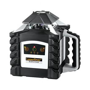 Ротационен лазерен нивелир Laserliner Quadrum Green 410S