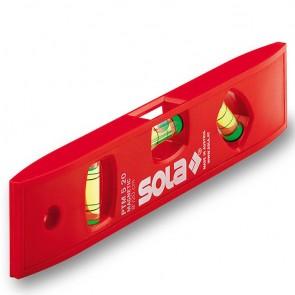 Пластмасов нивелир с магнит Sola PTM 5 - 20 см