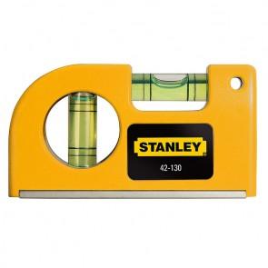 Магнитен нивелир 80мм Stanley Mini