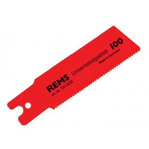 Нож за прободен трион за метал Rems / 1.8-2.5х100мм