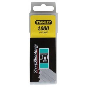 Скоби за такер Stanley CT-FLAT / 8мм, 1000бр.