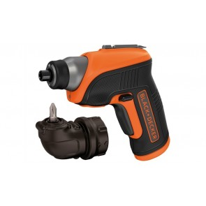 Акумулаторна отвертка Black&Decker CS3652LC / 3.6V, 0-180об/мин