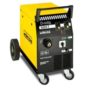 Телоподаващо устройство Deca D-mig 520T - 190 A, 400 V, 0.6-1.0 мм, ролка 300 мм/15 кг, 258700