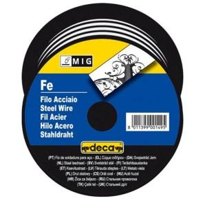 Заваръчна тел DECA за телоподаващо устройство ф 0.6 мм, 0.7 kg